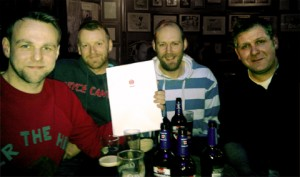 The Red Men script handover with Shynola