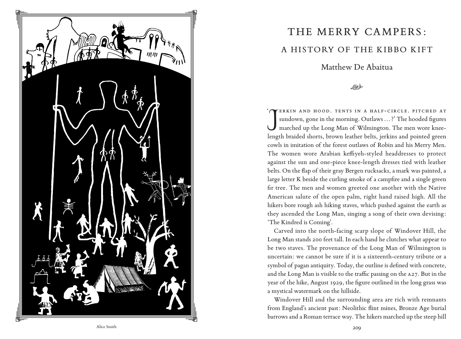 the idler and the kibbo kift harry bravado extract from matthew de abaitua s essay the merry campers about the kindred of the kibbo kift