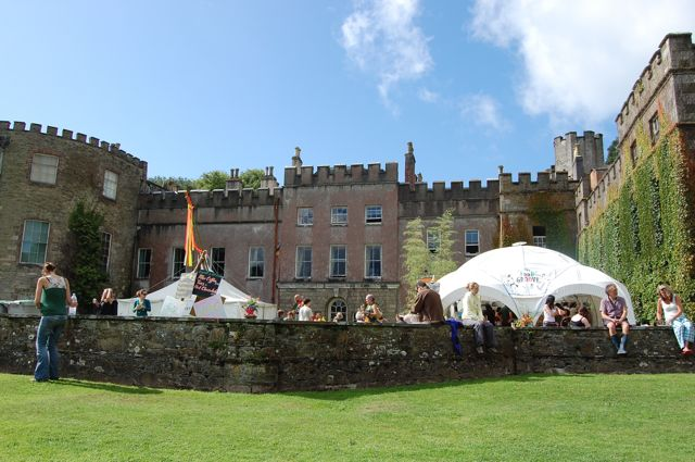 The house at Port Eliot during the festival