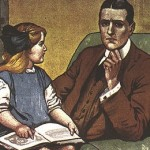 Cropped image from Government poster asking Daddy, What Did You Do in the Great War