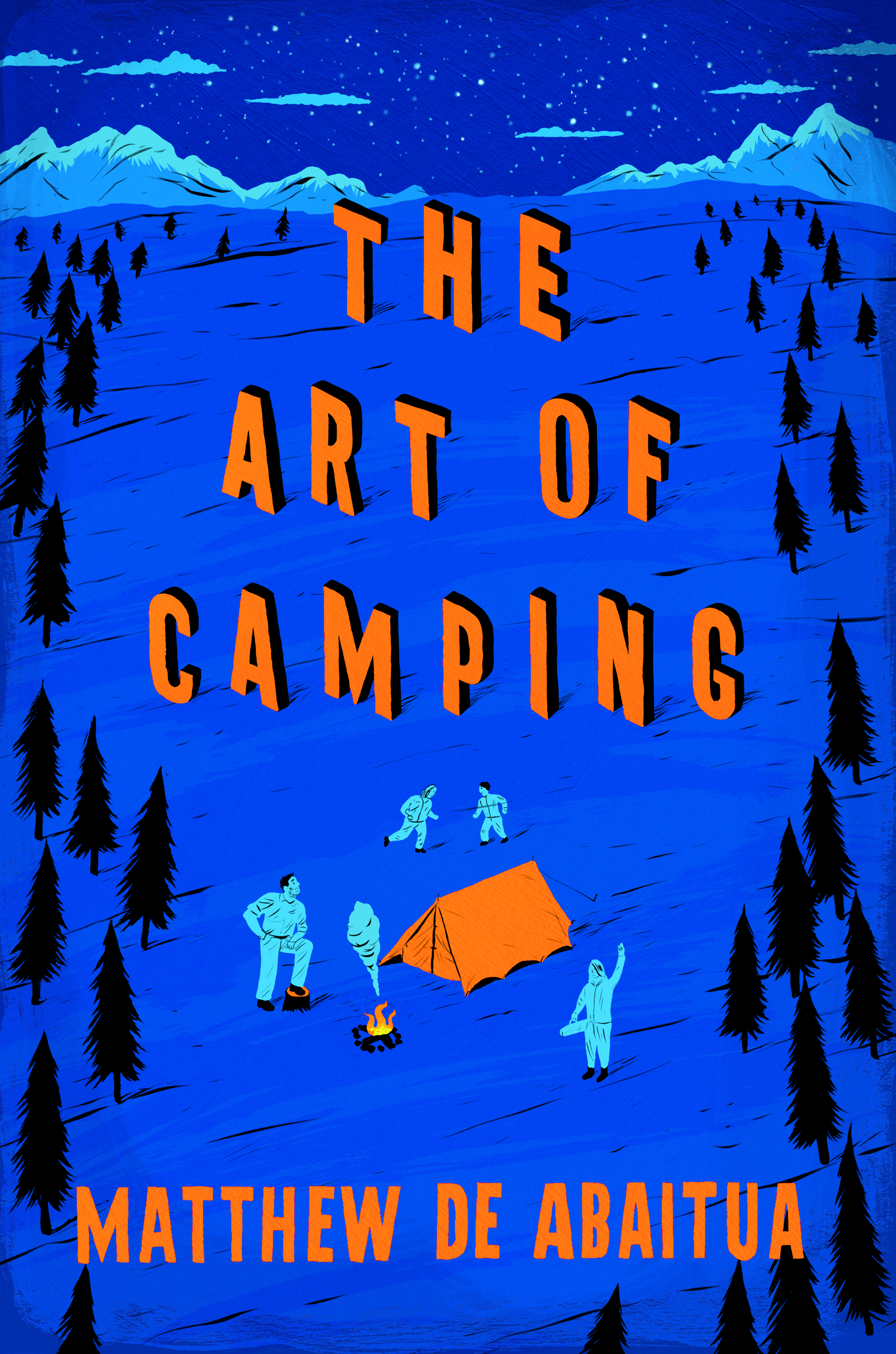 The cover of the paperback edition of The Art of Camping by Matthew De Abaitua