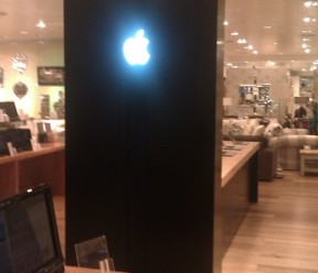 Apple in-store monolith