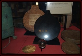 the black scrying mirror of Dr John Dee