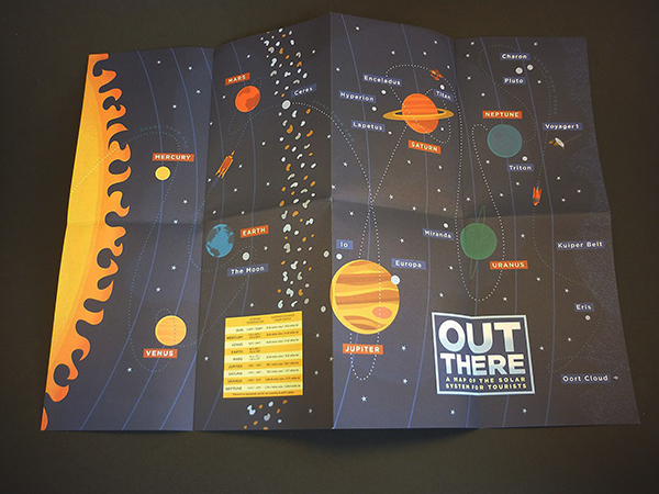 matthew de abaitua, Out there, Herb Lester, map of the solar system
