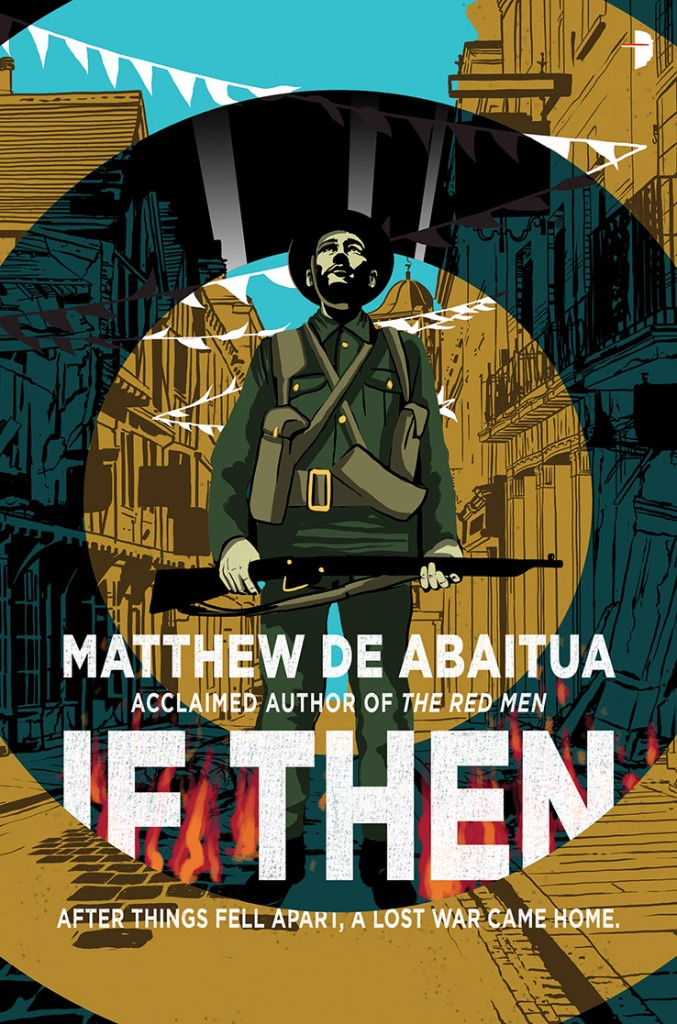 The cover of IF THEN by Matthew De Abaitua