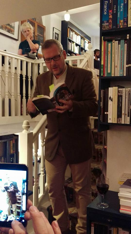 Matthew De Abaitua reading IF THEN at Broadway Bookshop